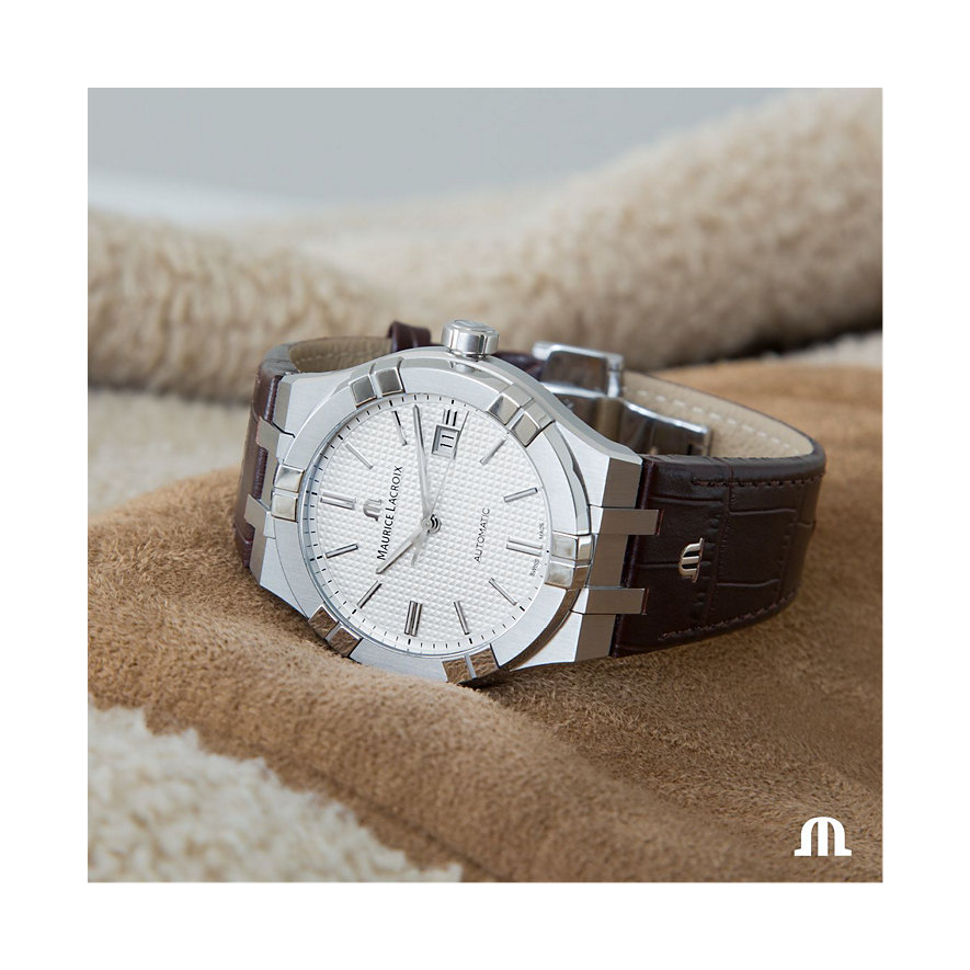 Maurice Lacroix Herrenuhr Aikon Date AI6008-SS001-130-1