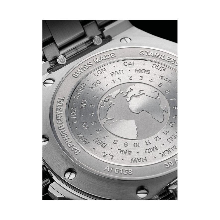 Maurice Lacroix Herrenuhr Aikon Venture GMT AI6158-SS001-130-2