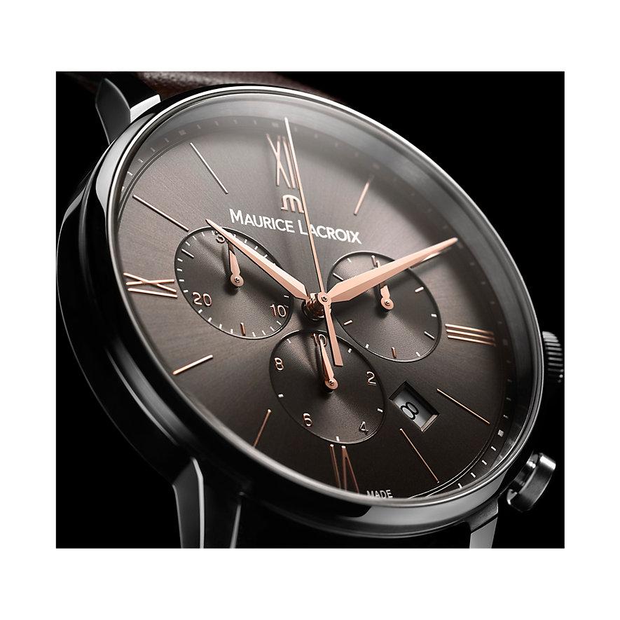 Maurice Lacroix Herrenuhr Eliros Date Chronograph EL1098-SS001-311-1