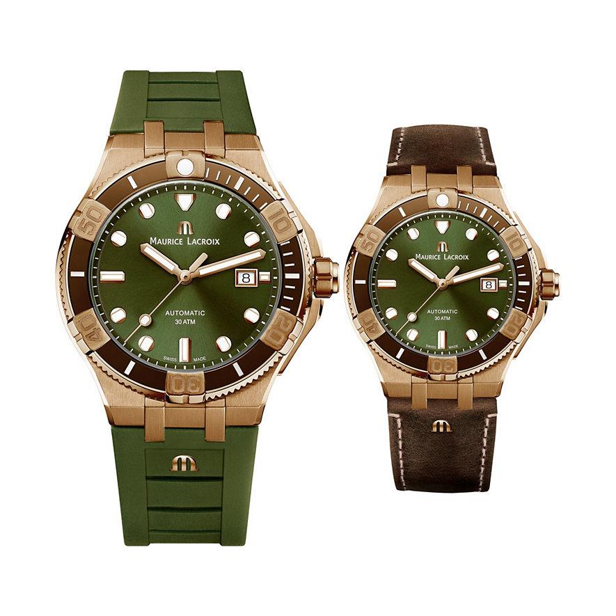 Maurice Lacroix Uhren-Set AI6058-BRZ01-630-1