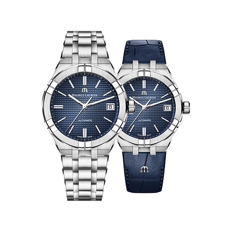 Maurice Lacroix Uhren-Set Aikon AI6008-SS002-430-2