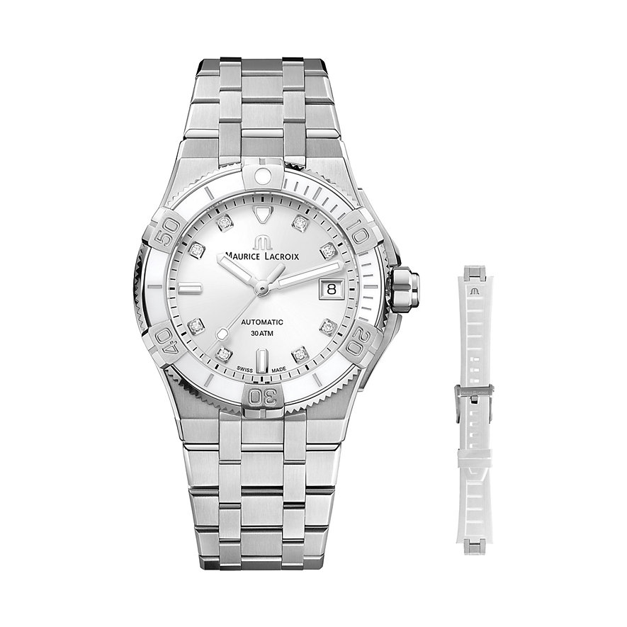 Maurice Lacroix Uhren-Set Aikon AI6057-SS00F-150-F