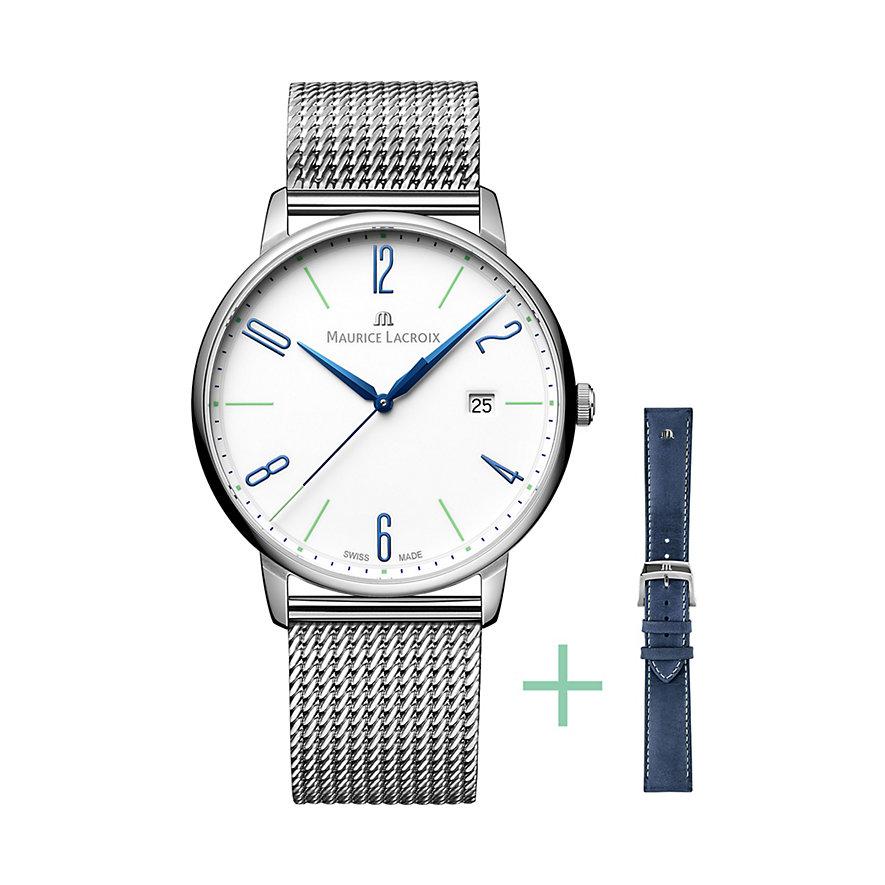 Maurice Lacroix Uhren-Set Eliros Date EL1118-SS00E-120-C