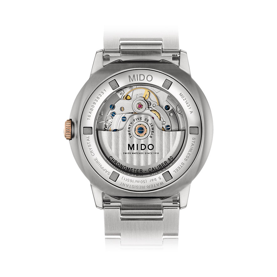 Mido Herrenuhr Commander M0214312203100
