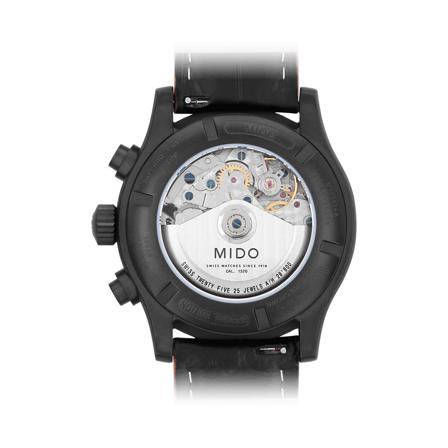 Mido Herrenuhr Multifort Chronograph M0056143605122