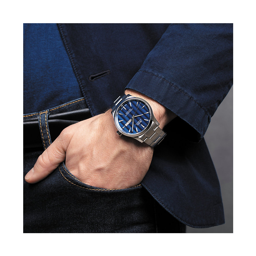 Mido Herrenuhr Multifort Chronometer M0384311104100