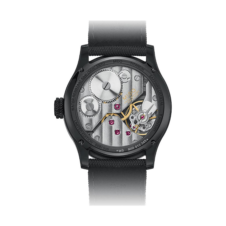 Mido Herrenuhr Multifort  M0326054741000