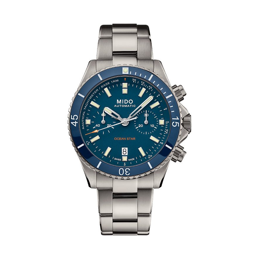 Mido Herrenuhr Ocean Star Chronograph M0266274404100