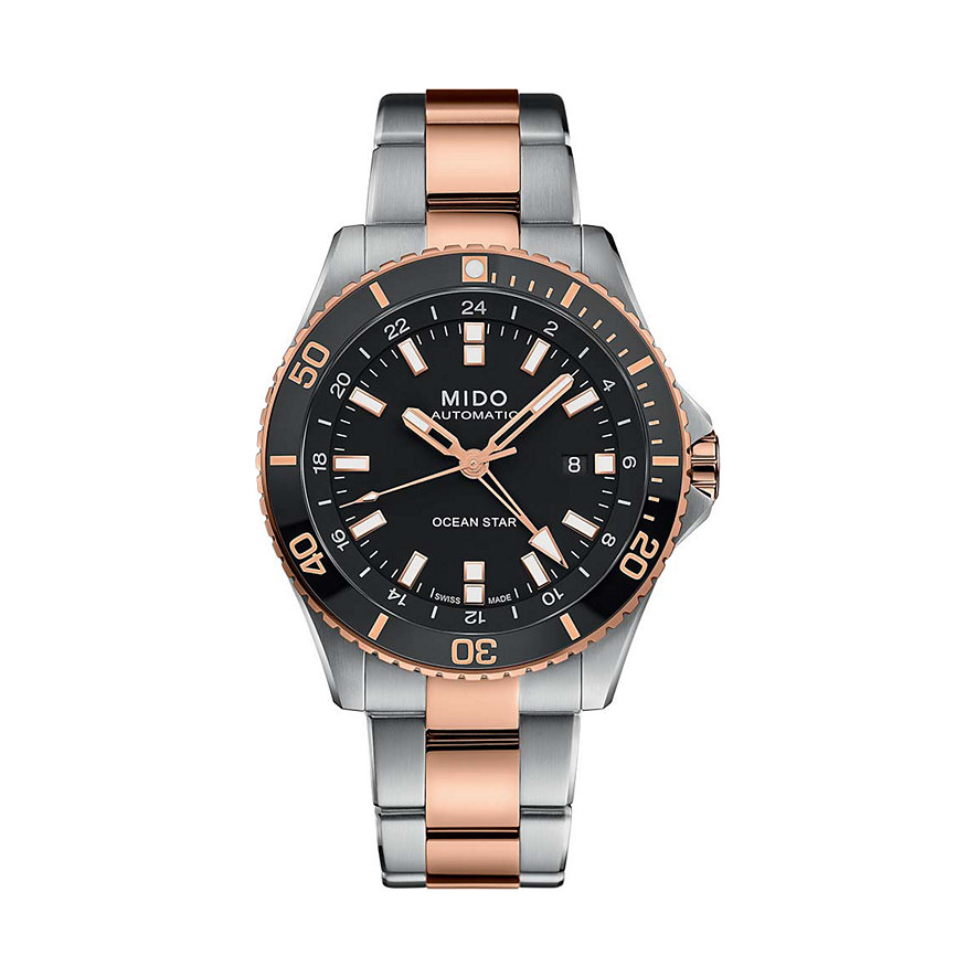 Mido Herrenuhr Ocean Star GMT M0266292205100