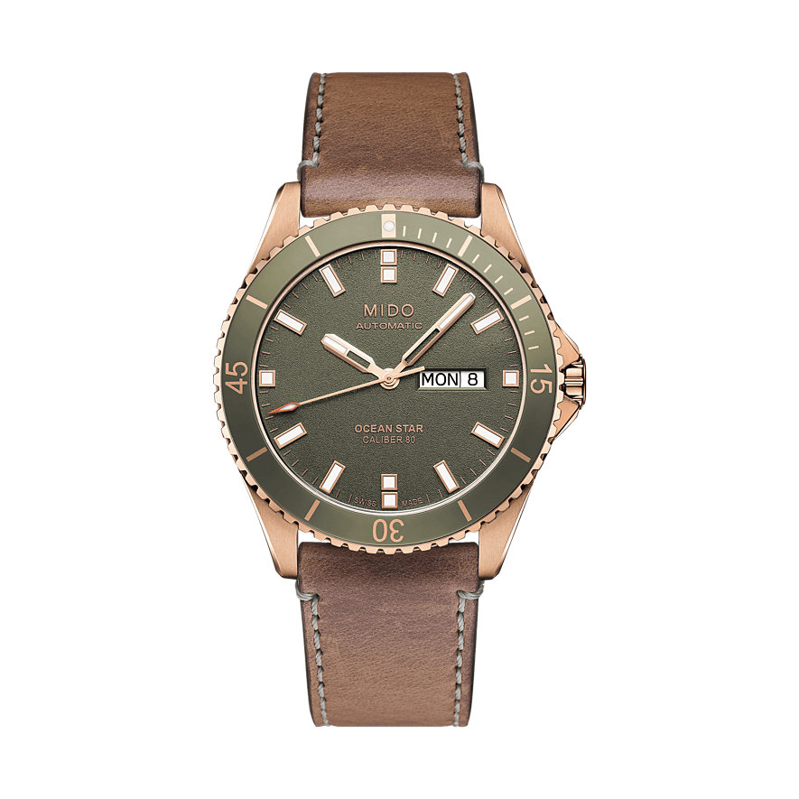 Mido Herrenuhr Os Captain M0264303609100