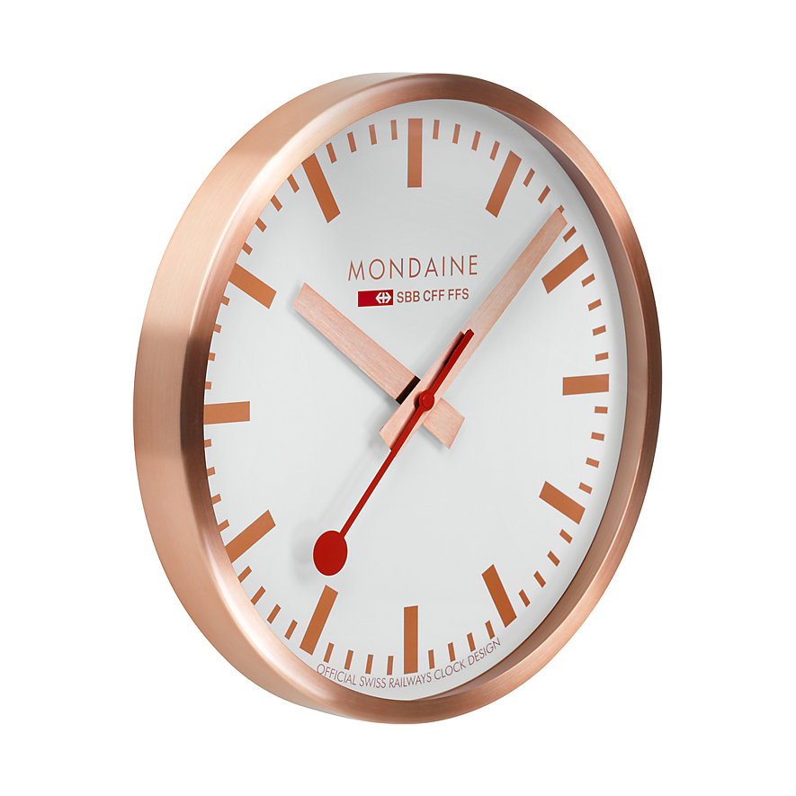Mondaine Wanduhr A995.CLOCK.17SBK