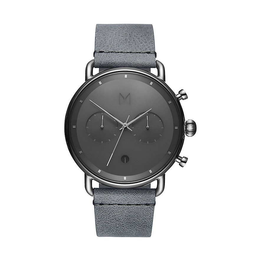MVMT Herrenuhr Blacktop D-BT01-SGR