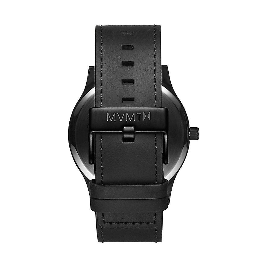 MVMT Herrenuhr Classic Black Rose Leather MM01-BBRGL