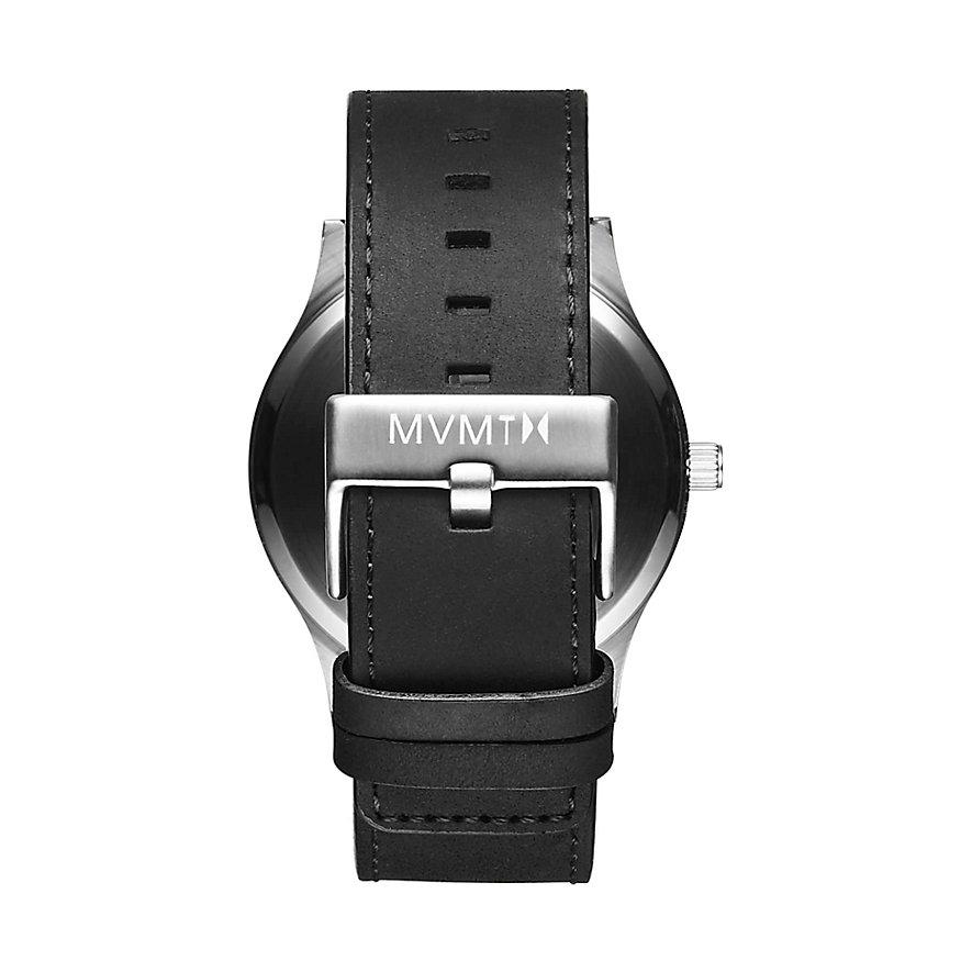 MVMT Herrenuhr Classic Black Silver MM01-BSL