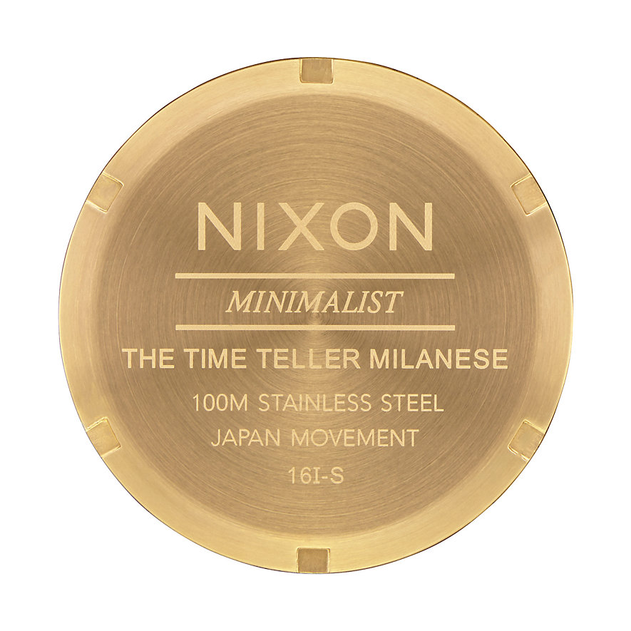 Nixon Damenuhr Time Teller Milanese A1187-502-00