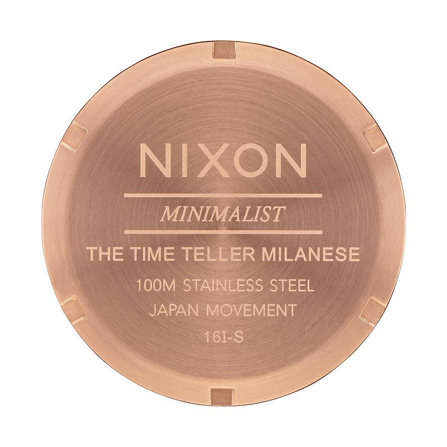 Nixon Damenuhr Time Teller Milanese A1187-897-00