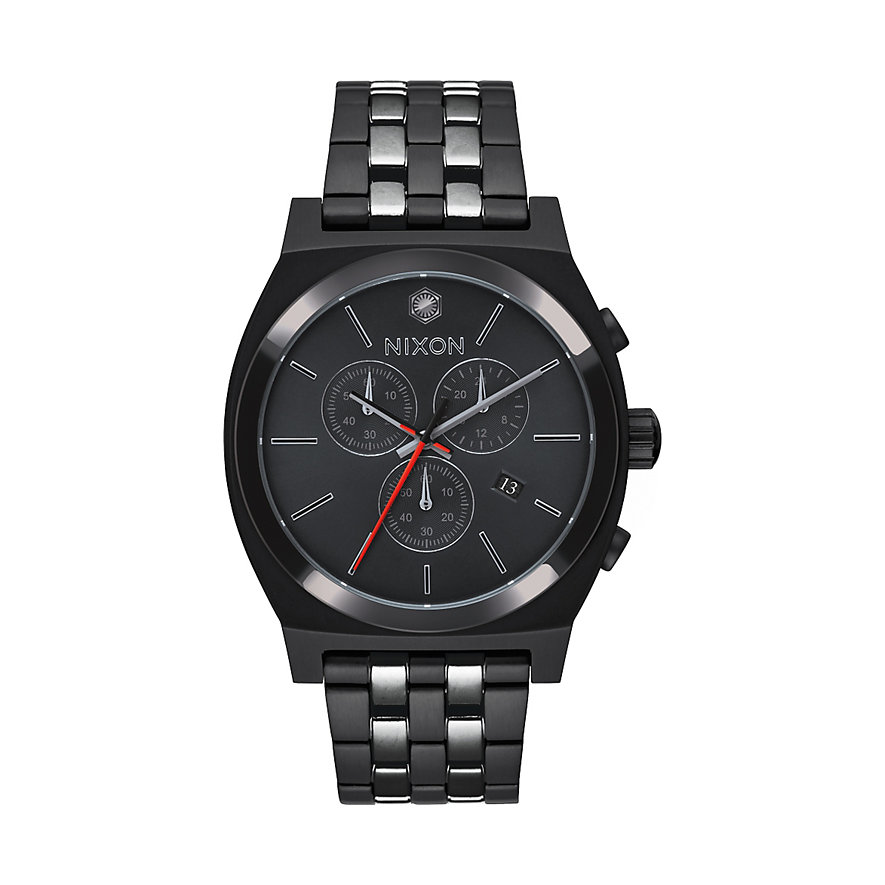 Nixon Herrenchronograph Time Teller SW Kylo Bla A972SW 2444