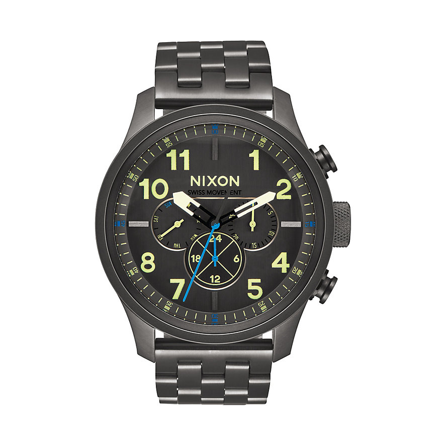 Nixon Herrenuhr Safari Dual Time A1081 1418-00