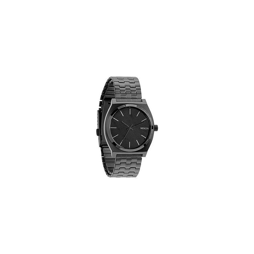 Nixon Herrenuhr Time Teller All Black A045 1001