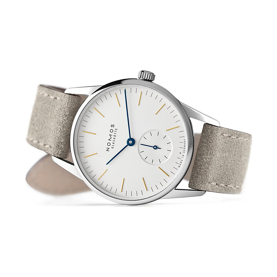 Nomos Glashütte Herrenuhr Orion 33 322
