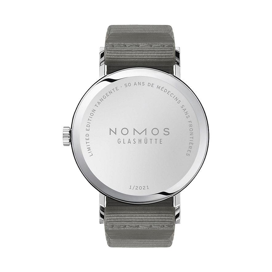 Nomos Unisexuhr Tangente Ärzte ohne Grenzen 165.S50