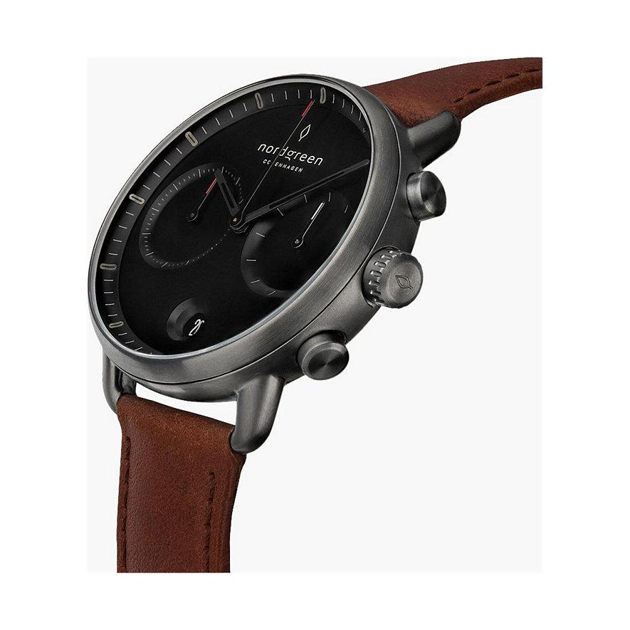 Nordgreen Uhren-Set PI42GMBLLEBRLEBL