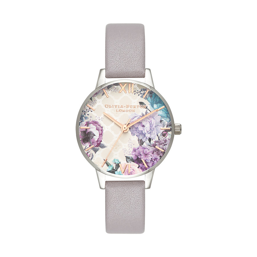 Olivia Burton Damenuhr Grey Lilac OB16EG104