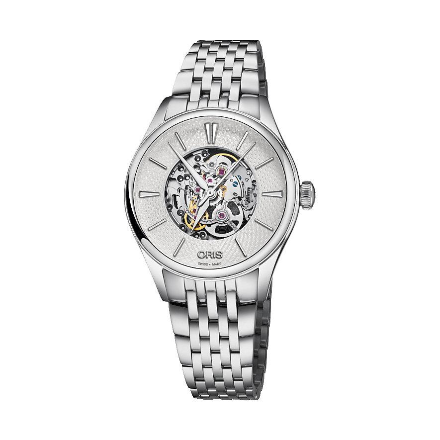 Oris Damenuhr Artelier Skel Diamonds 01 560 7724 4051-07 8 17 79