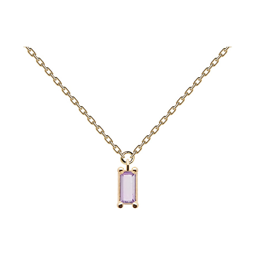 P D Paola Kette Purple Asana CO01-133-U