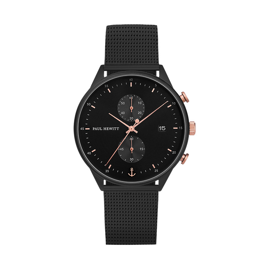 Paul Hewitt Chrono Line Black Sunray PH-C-B-BSR-5M