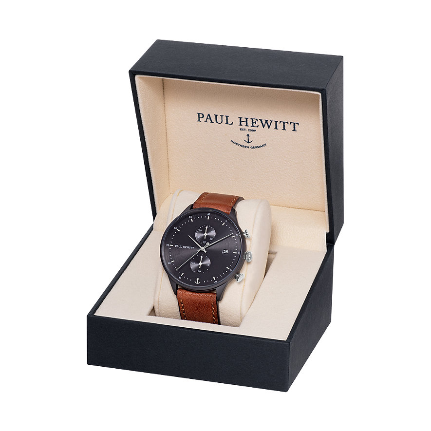 Paul Hewitt Chrono Line Black Sunray PH-C-B-BSS-1M