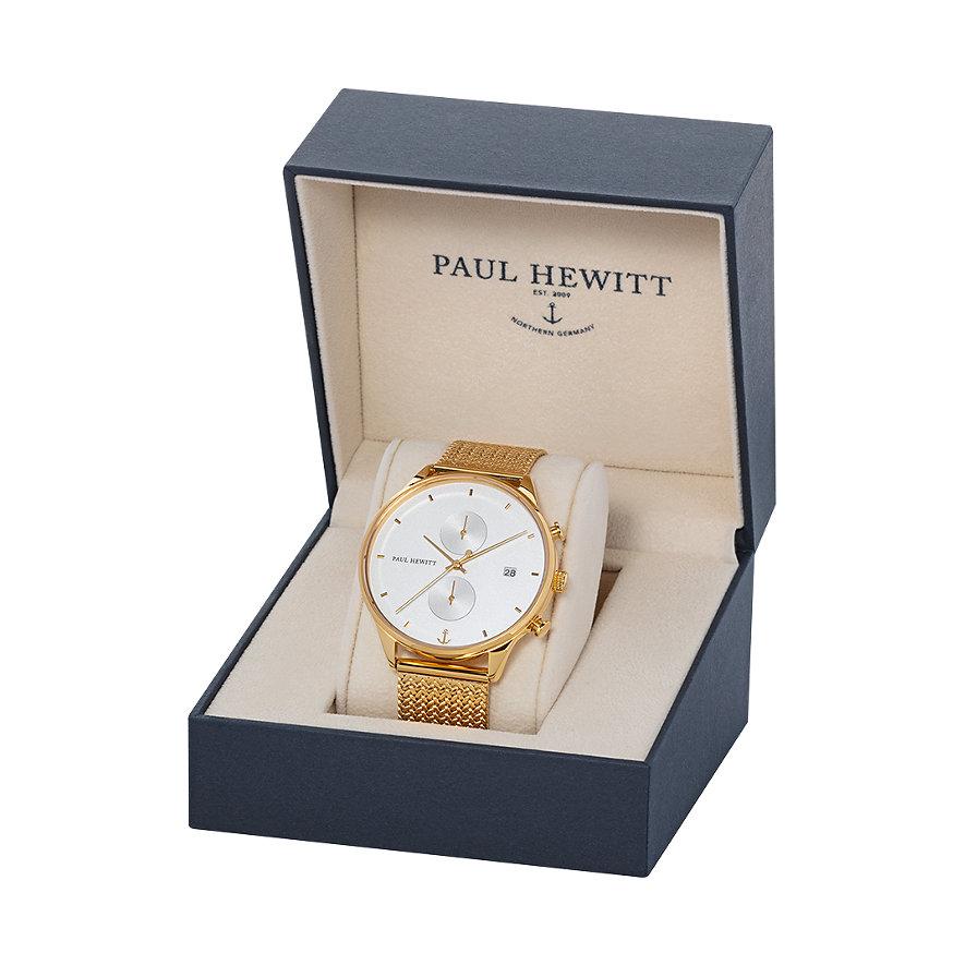 Paul Hewitt Chronograaf Chrono Line PH-C-G-W-50S