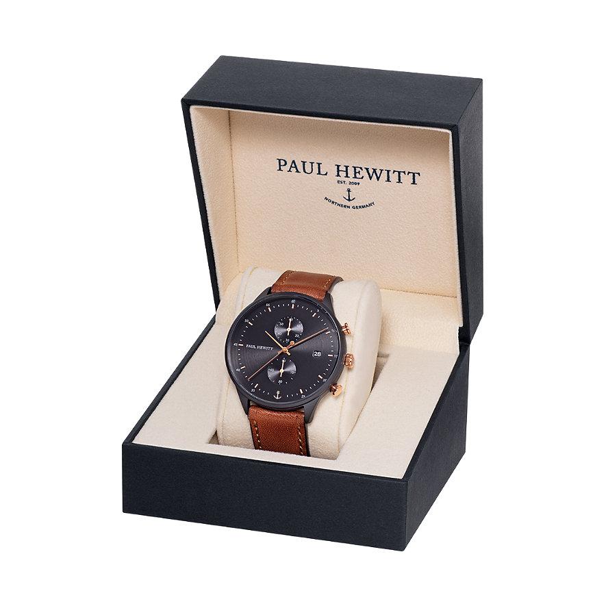 Paul Hewitt Chronograph Black Sunray PH-C-B-BSR-1M