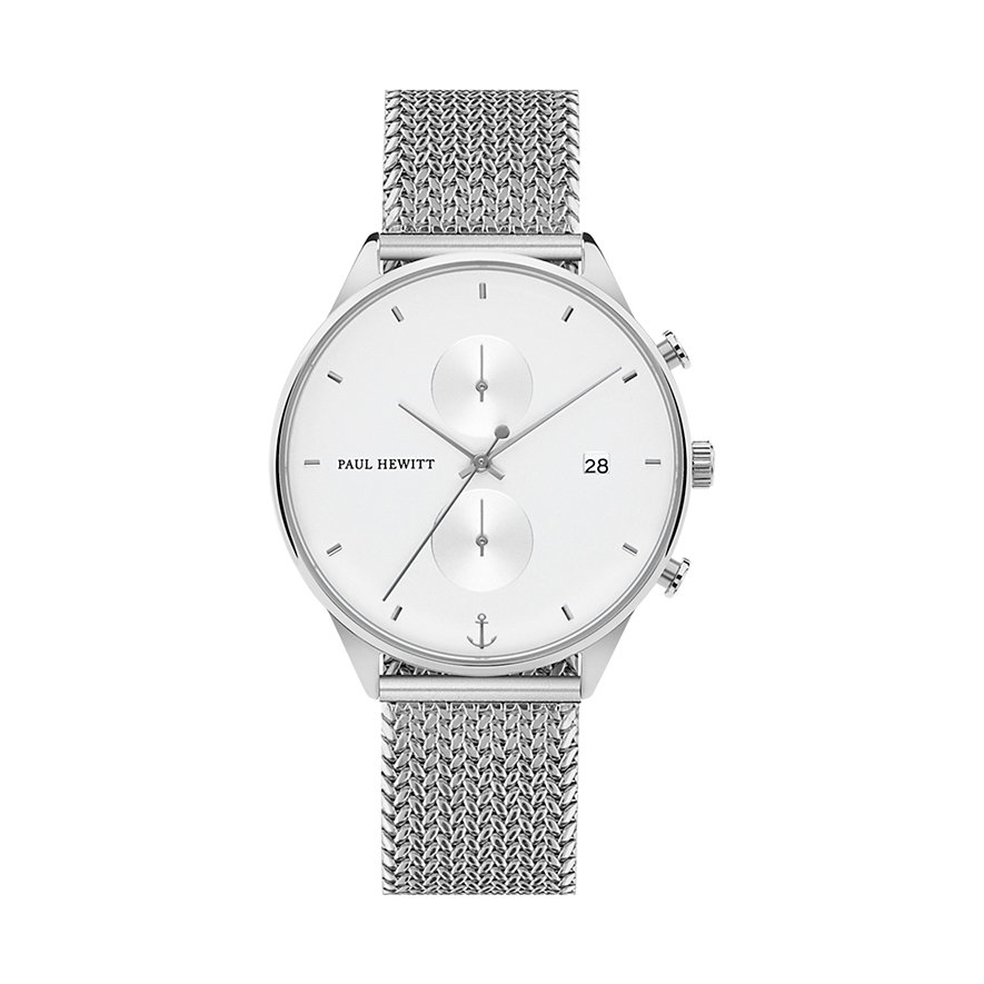 Paul Hewitt Chronographmet Chrono Line White Sand PH-C-S-W-50M