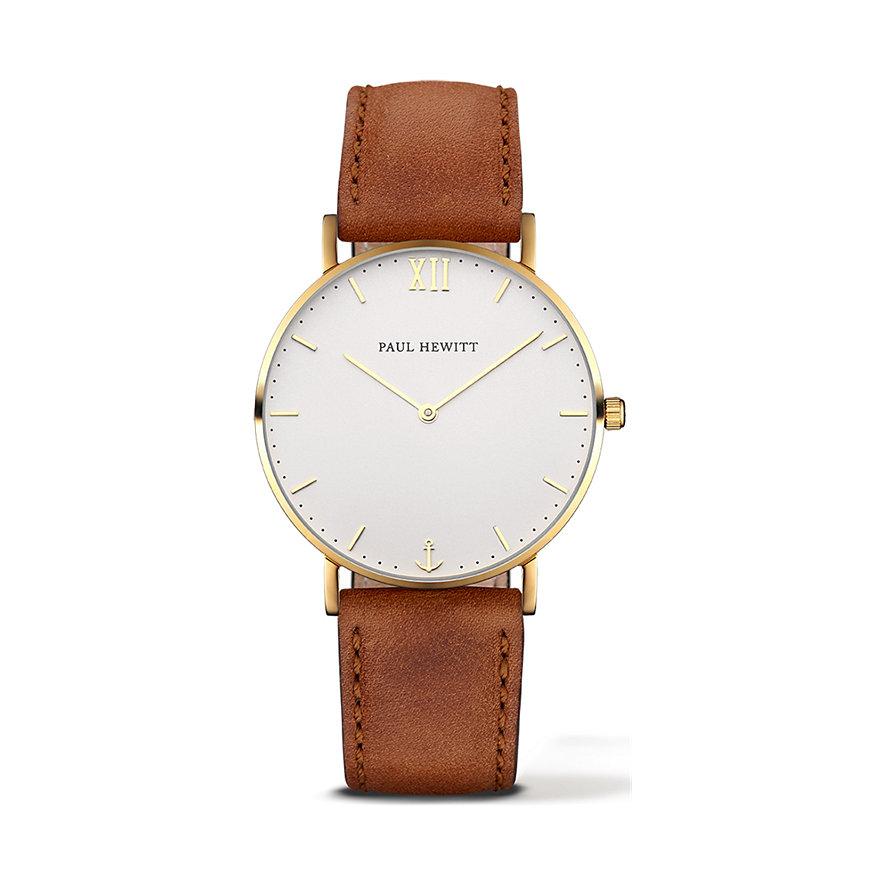 Paul Hewitt Sailor Line Uhr Gold White Sand PH-SA-G-St-W-1