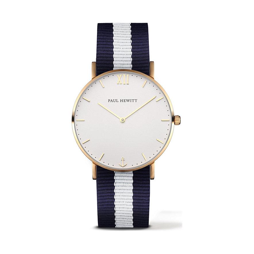 Paul Hewitt Sailor Line Uhr Gold White Sand PH-SA-G-St-W-NW-20