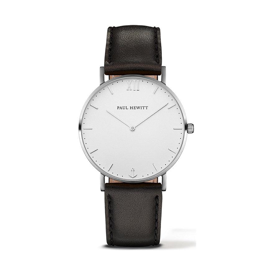 PAUL HEWITT Sailor Line Uhr Silber White Sand PH-SA-S-St-W-2M