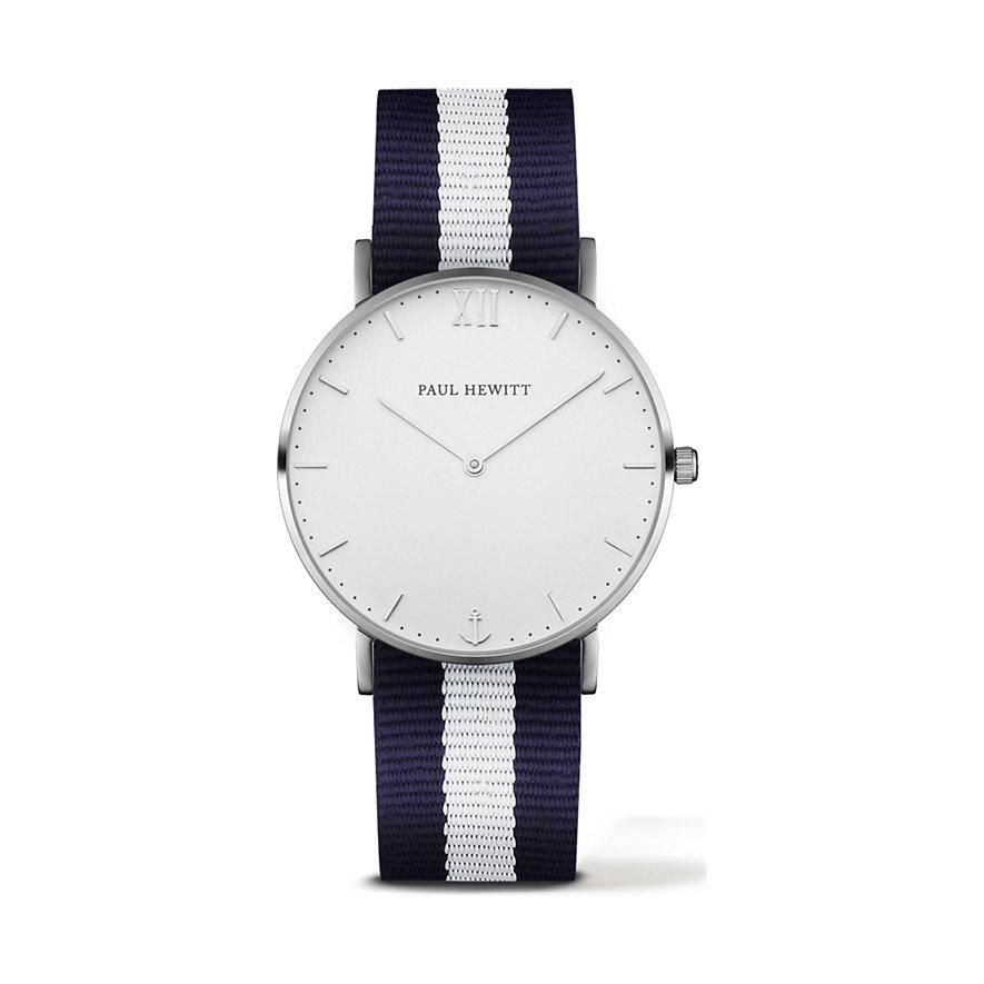 Paul Hewitt Sailor Line Uhr Silber White Sand PH-SA-S-St-W-NW-20
