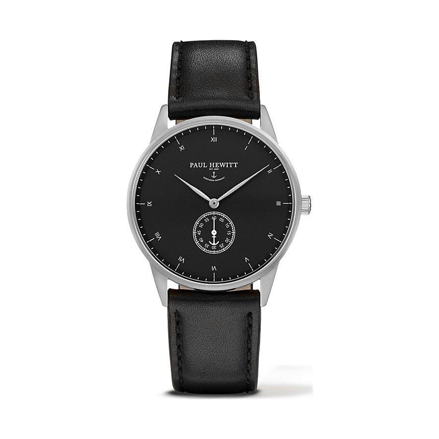 Paul Hewitt Signature Line Uhr Silber Mark I Black Sea PH-M1-S-B-2