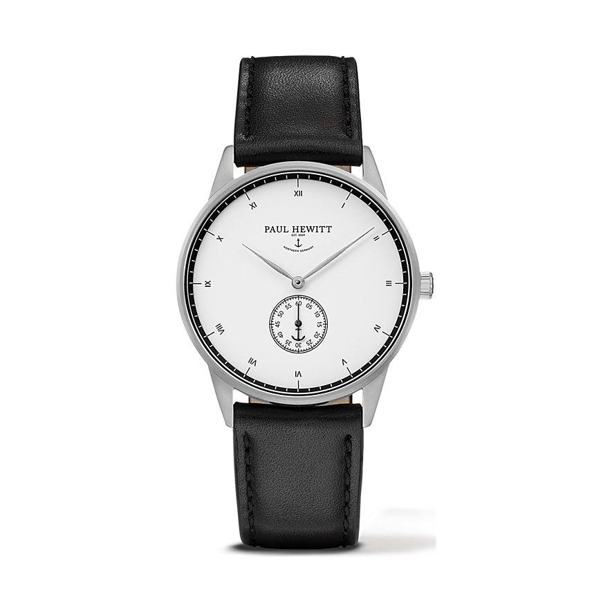 Paul Hewitt Signature Line Uhr Silber Mark I White Ocean PH-M1-S-W-2