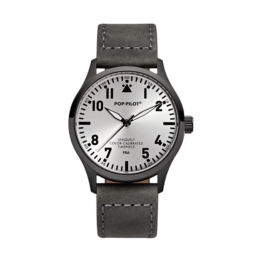 Pop-Pilot Herrenuhr FR'A Leather