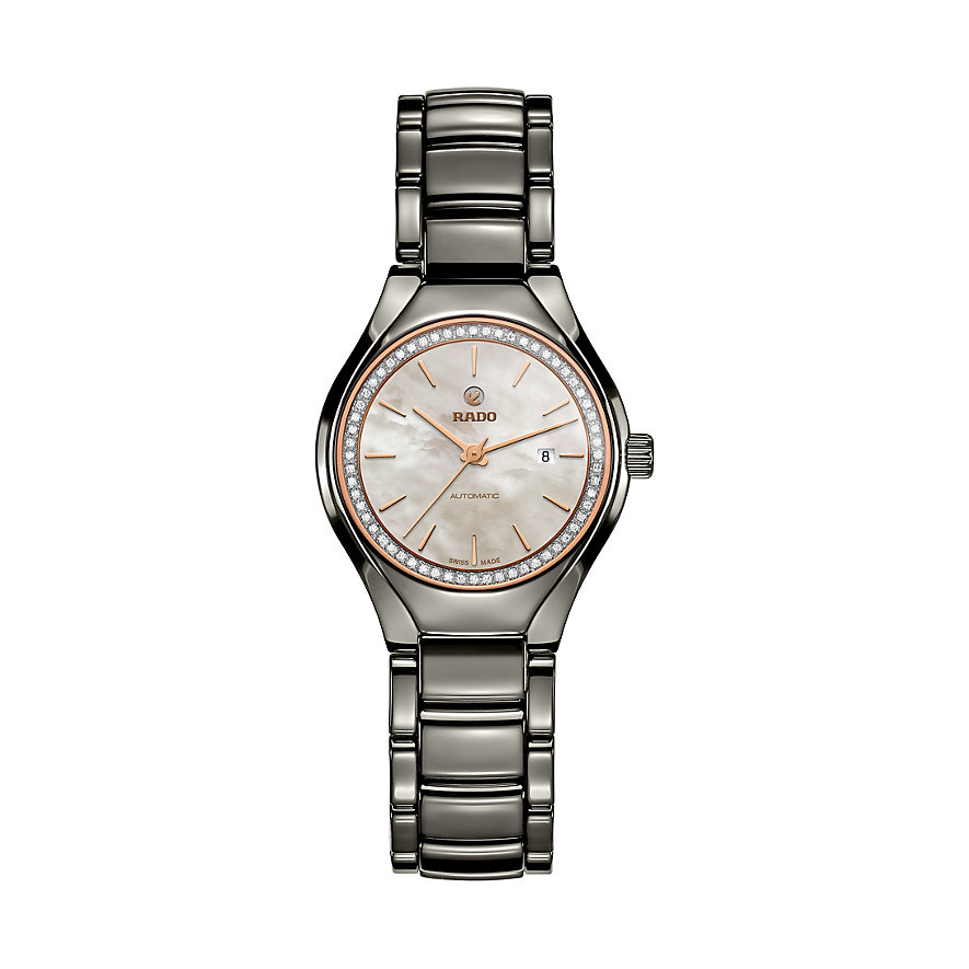 Rado Damenuhr True Automatic Diamonds R27243852