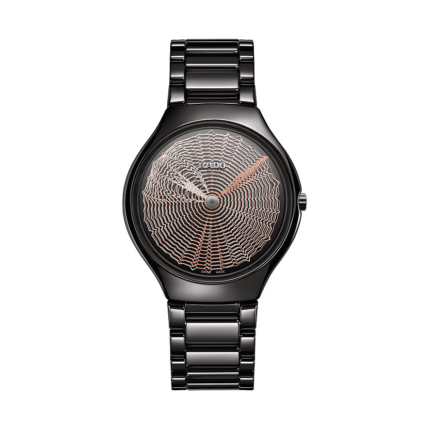 Rado Unisexuhr True Thinline Deep Web, Limited Edition R27969182
