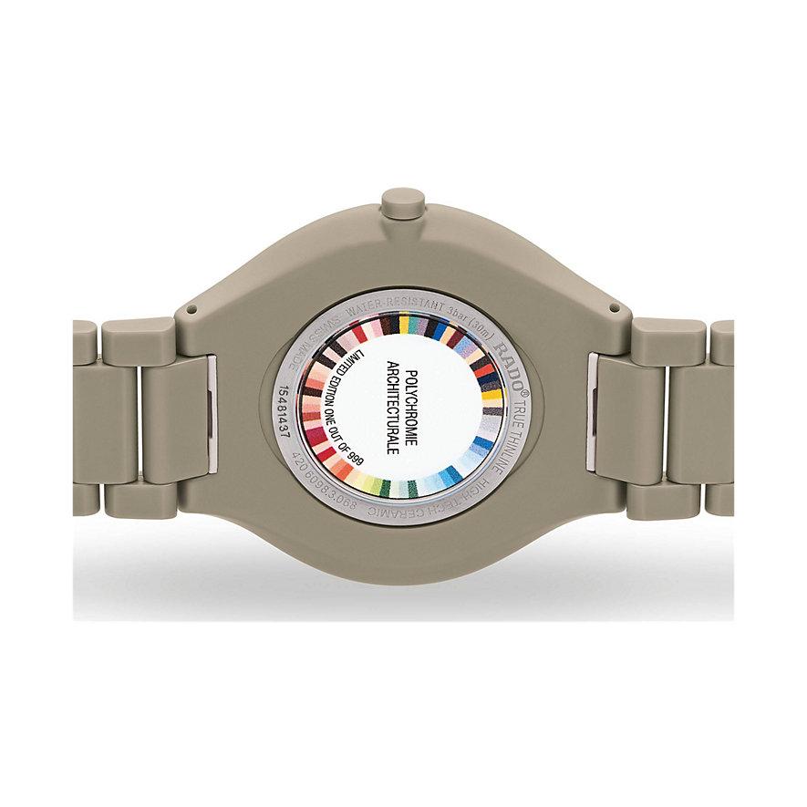 Rado Unisexuhr True Thinline Les Couleurs Le Corbusier R27098682