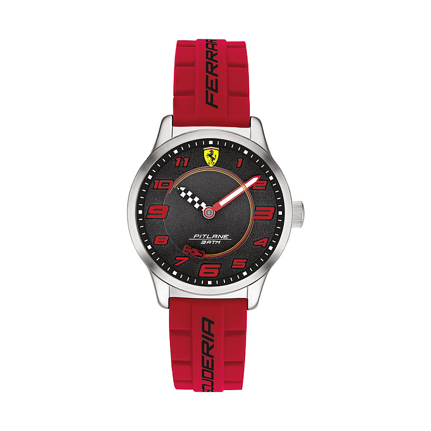 Scuderia Ferrari Kinderuhr Pitlane 0860013