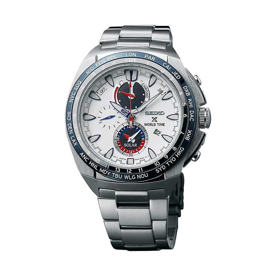 Seiko Chronograph Prospex Solar World Time SSC485P1