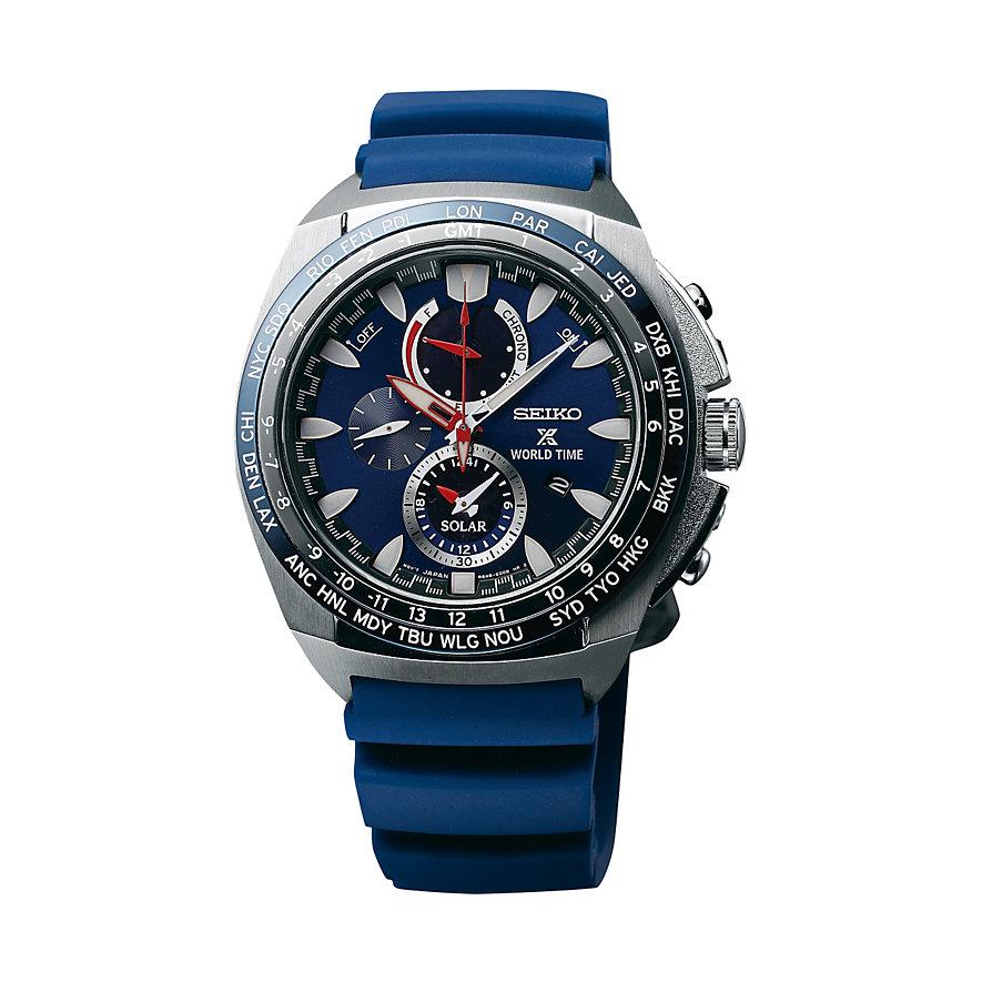 Seiko Chronograph Prospex Solar World Time SSC489P1