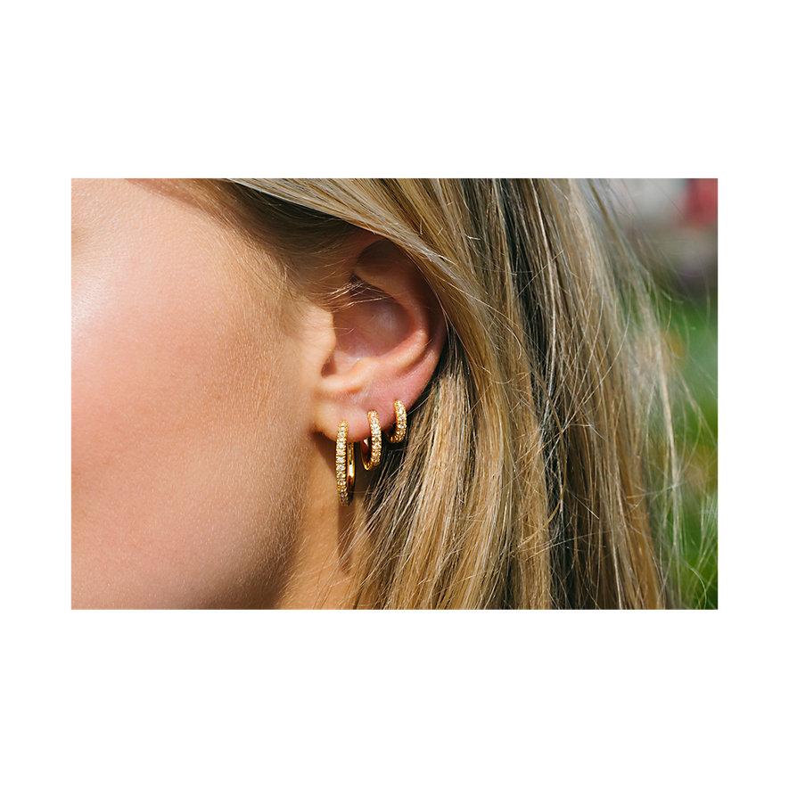 Sif Jakobs Jewellery Creolen SJ-E2859-YEL-YG