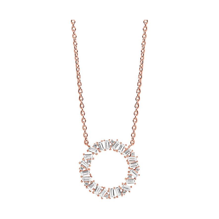Sif Jakobs Jewellery Kette Antella Circolo SJ-C0163-CZ-RG