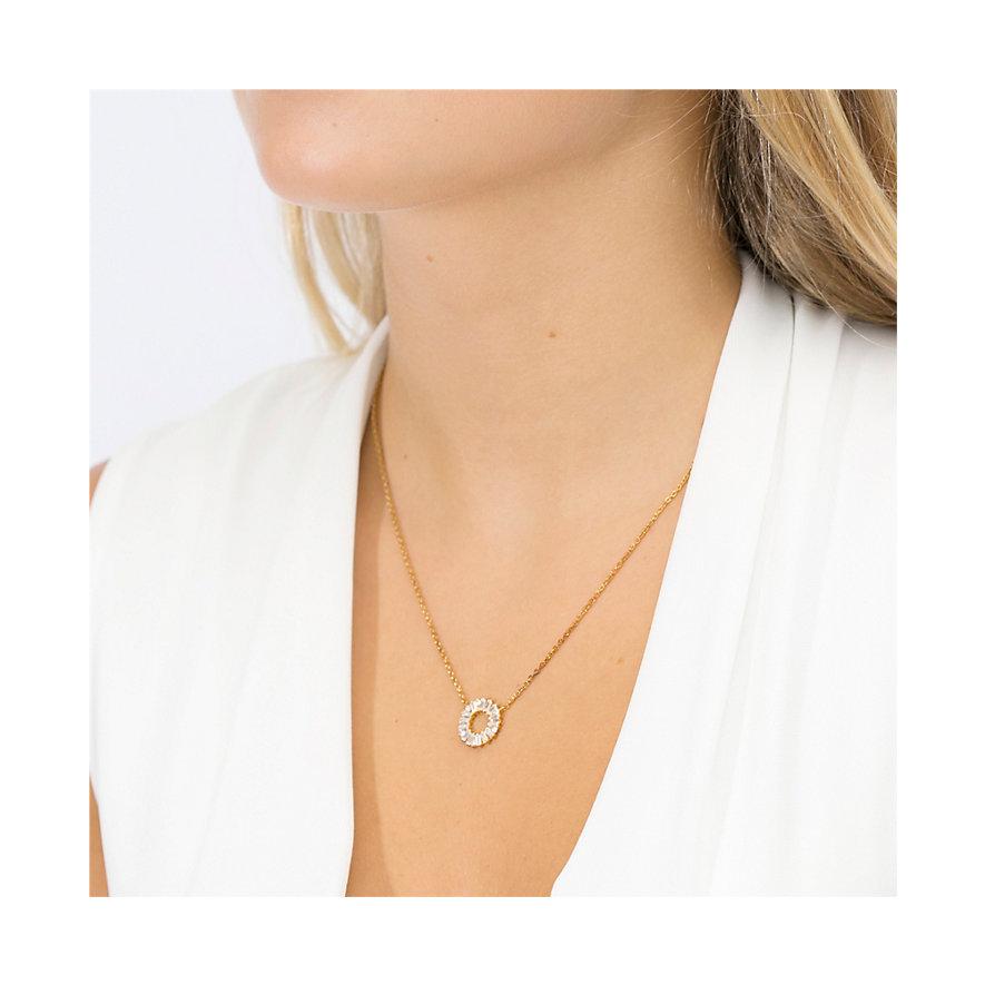 Sif Jakobs Jewellery Kette Antella Circolo SJ-C0163-CZ-YG